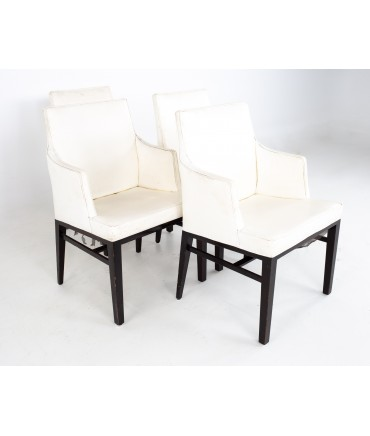 Edward Wormley for Dunbar Mid Century Dining Chairs - Set of 4