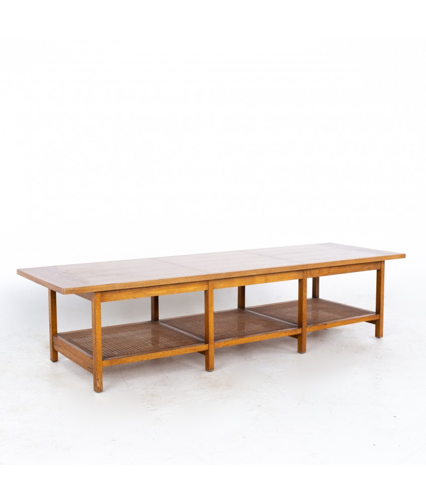 Paul McCobb for Lane Delineator Mid Century Rosewood and Walnut Coffee Table