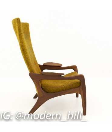 Tremendous Adrian Pearsall For Craft Associates Highback Wing Lounge Chair Camellatalisay Diy Chair Ideas Camellatalisaycom