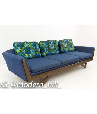 Superb Adrian Pearsall Style Blue Gondola Sofa Pdpeps Interior Chair Design Pdpepsorg