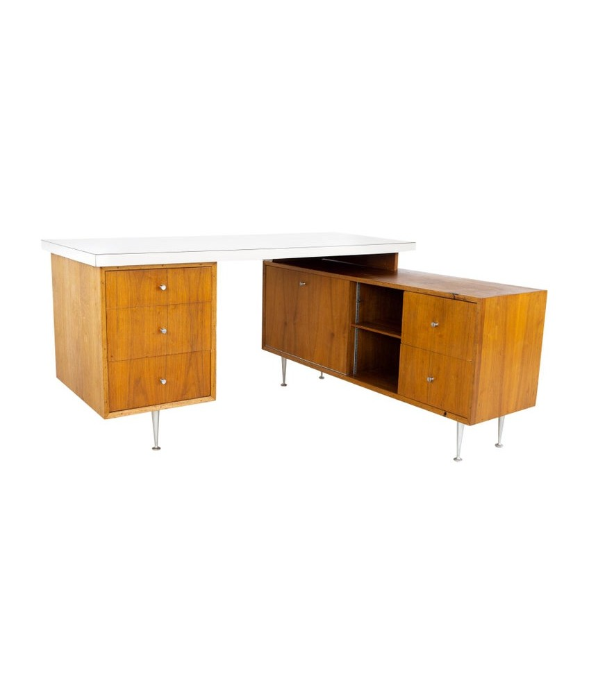 George Nelson for Herman Miller Mid Century Executive Desk