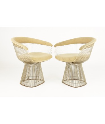 Warren Platner For Knoll Mid Century Dining Chairs