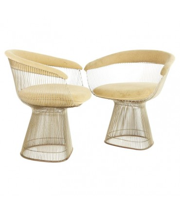 Warren Platner For Knoll Mid Century Dining Chairs - Set 2