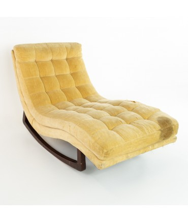 Adrian Pearsall For Craft and Associates Mid Century Rocking Chaise Lounge Chair
