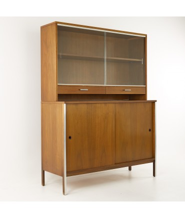 Paul McCobb for Calvin Paul McCobb for Calvin Mid Century Sideboard Credenza Buffet with Hutch
