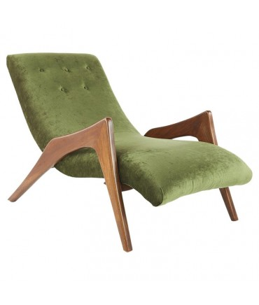 Adrian Pearsall Style Mid Century Grasshopper Lounge Chair