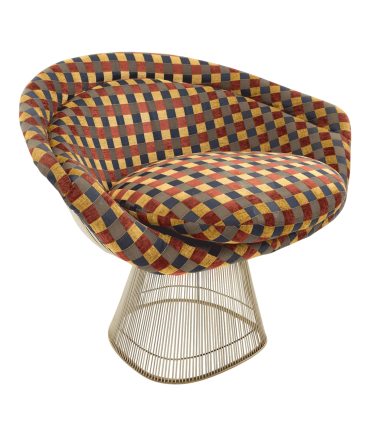 Warren Platner Mid Century Modern Lounge Chair