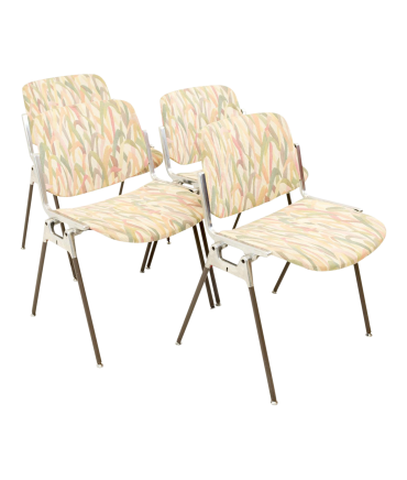 Giancarlo Piretti for Anomina Castelli DSC 106 Stackable Italian Chairs