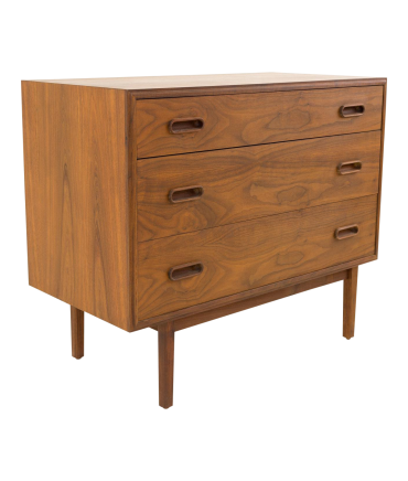 Jack Cartwright for Founders 3 Drawer Mid Century Chest
