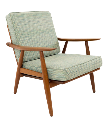 Hans Wegner for Getama GE-270 Danish Teak Lounge Chair