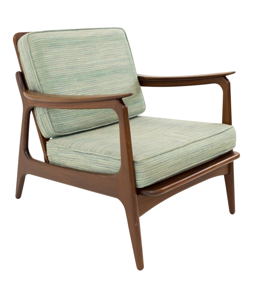 Amazing Hans Wegner Style Mid Century Modern Lounge Chair Beatyapartments Chair Design Images Beatyapartmentscom