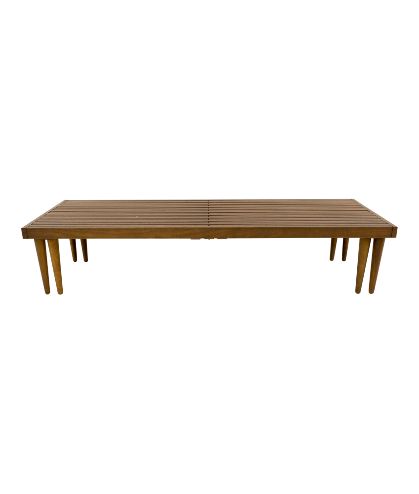 John Keal for Brown Saltman Mid Century Expandable Bench