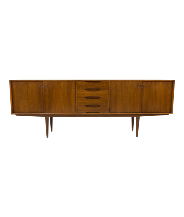 Fredrik Kayser for Gustav Bahus Mid Century Modern Sideboard Credenza on consoles and credenzas, made in usa modern credenzas, country style credenzas, modern sideboards with sliding door, modern sideboards and hutches, industrial modern credenzas, post modern credenzas,
