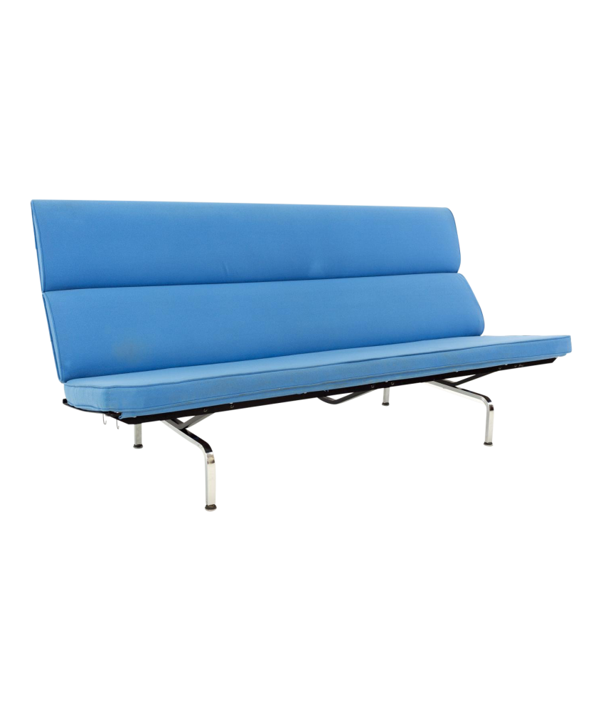 Eames for Herman Miller Mid Century Modern Compact Daybed Sofa