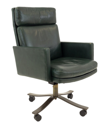 Stow and Davis Mid Century Green Office Desk Chair