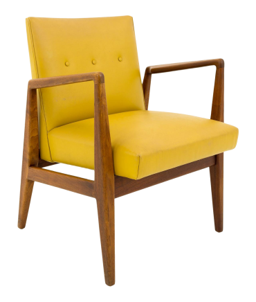 Jens Risom Armed Mid Century Modern Occasional Lounge Chair