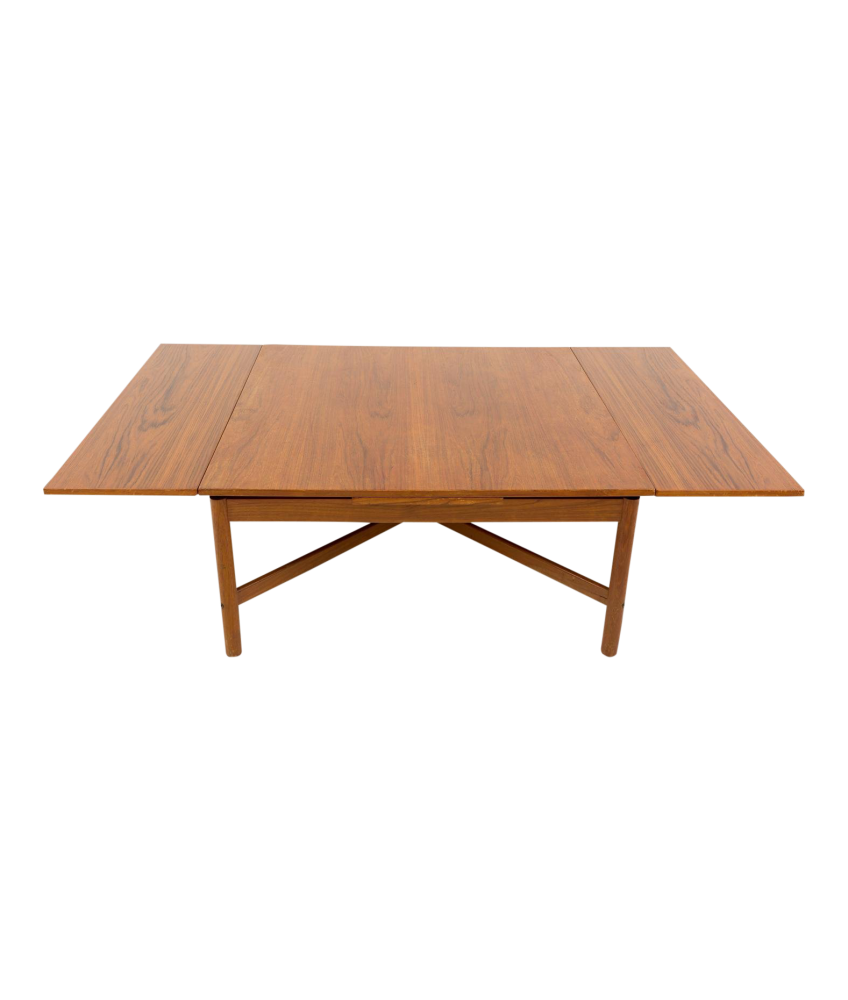 Mid Century Rosewood Expandable Coffee Table