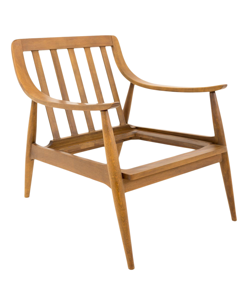 Peter Hvidt Style Mid Century Modern Chair Frame