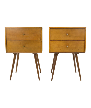 Paul McCobb for Planner Group Mid Century Modern Nightstands - Pair