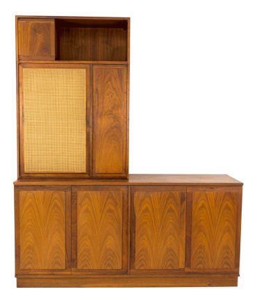 Dillingham Espirit Mid Century Sideboard Credenza and Hutch