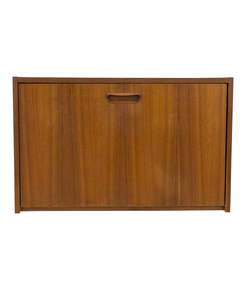 George Nelson Omni Mid Century Wall Shelving Unit Bar Desk Cabinet