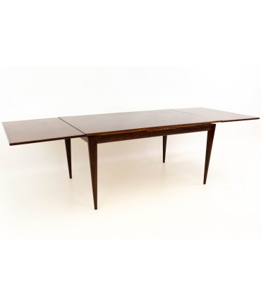 Niels O. JL Moller Num. 12 Danish Rosewood Mid Century Dining Table
