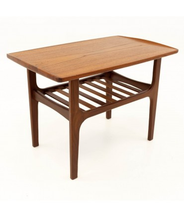 Finn Juhl Style Mid Century Teak Occasional Side End Table
