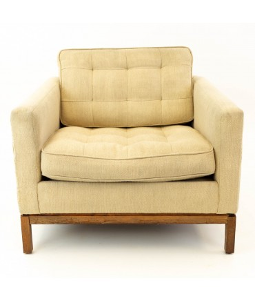Early Florence Knoll Mid Century Club Lounge Chair