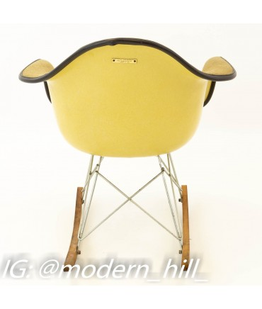 Eames for Herman Miller Mid Century Modern Rocking Chair