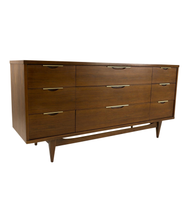 Kent Coffey Tableau Lowboy Dresser with Formica Top