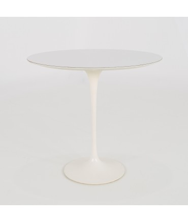 Eero Saarinen for Knoll Mid Century Laminate Side End Table