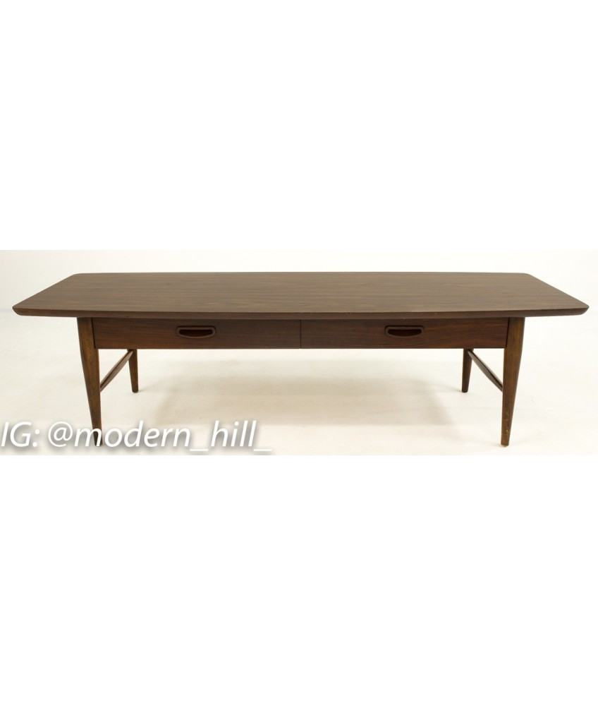 Lane Mid Century Formica Coffee Table